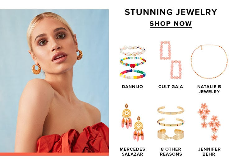 Stunning Jewelry. SHOP NOW