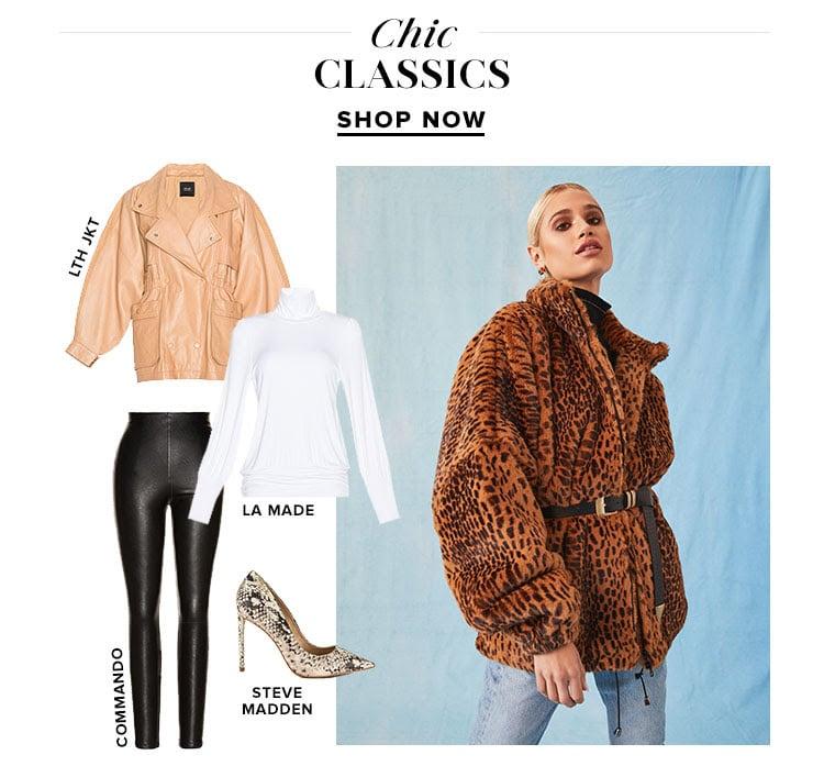 Chic Classics. Shop now.