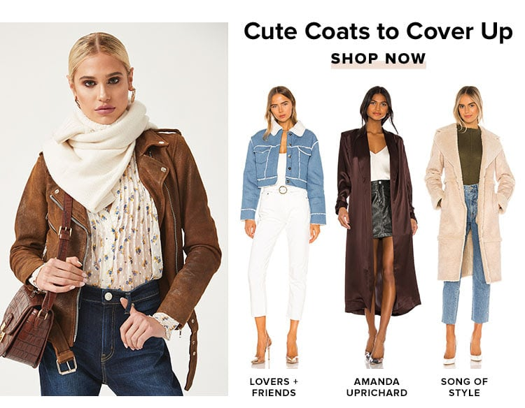 Cute Coats to Cover Up. Shop now.