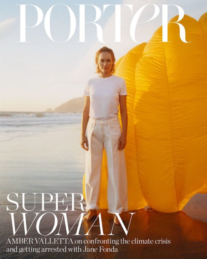 Be the Change: Amber Valletta for The EDIT
