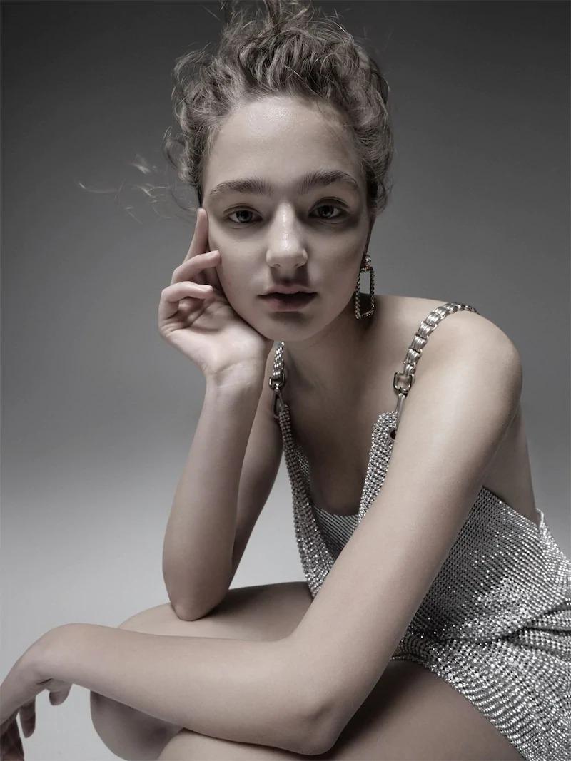 Ca&Lou Cassandra Square Crystal Earrings
