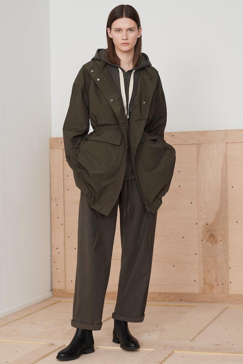 Eileen Fisher Organic Cotton Wide Leg Pants