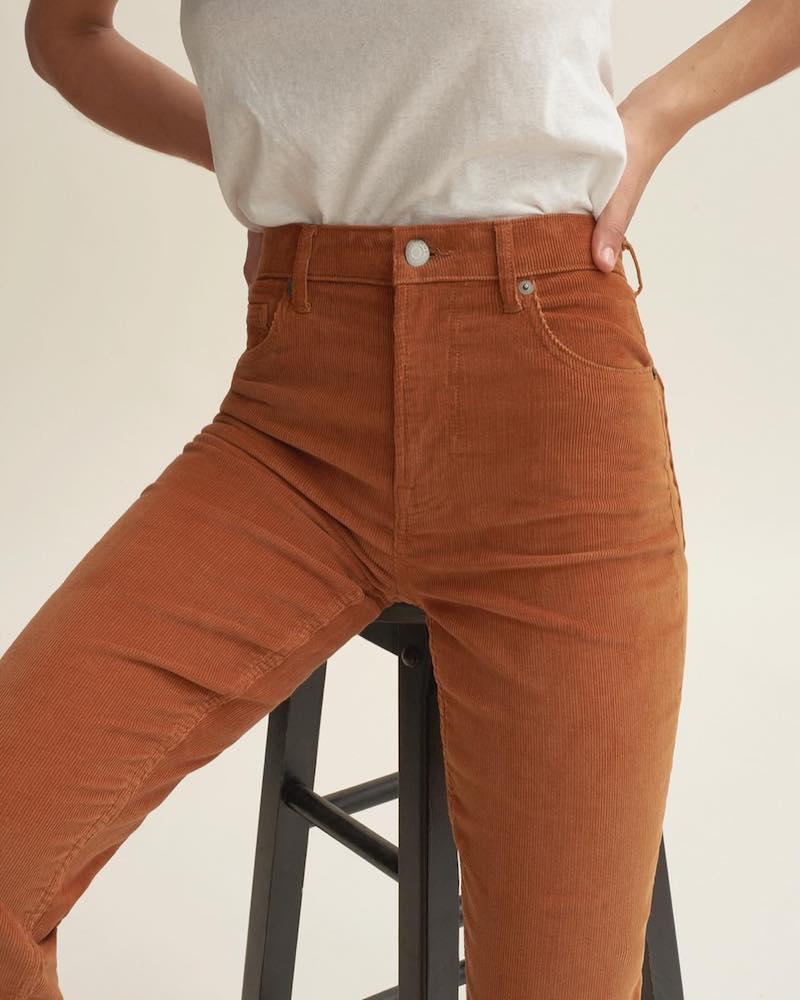 Everlane Cheeky Straight Corduroy Pant