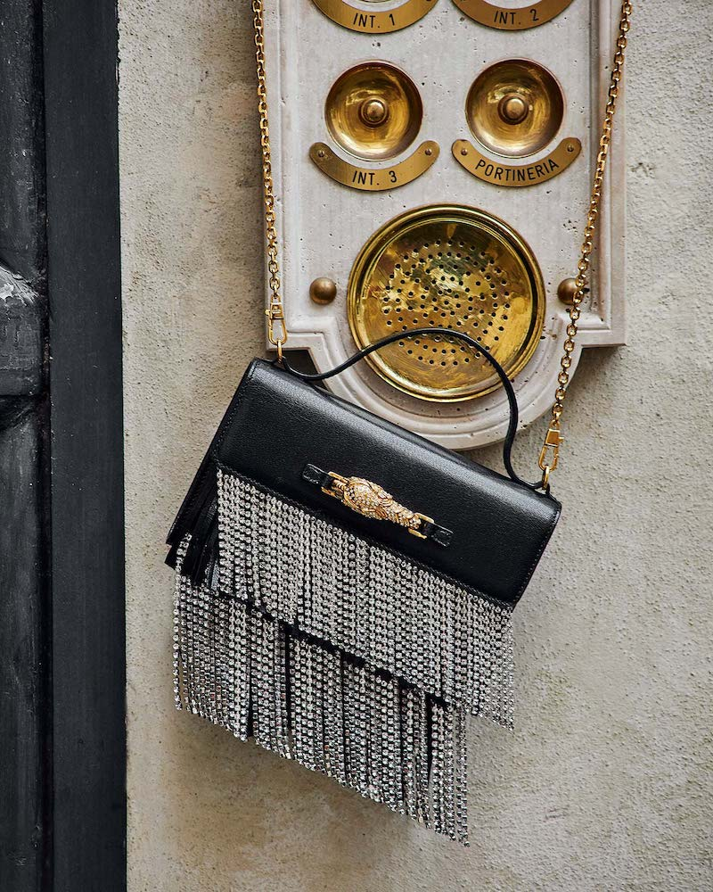 Gucci Broadway Crystal-Fringe Shoulder Bag