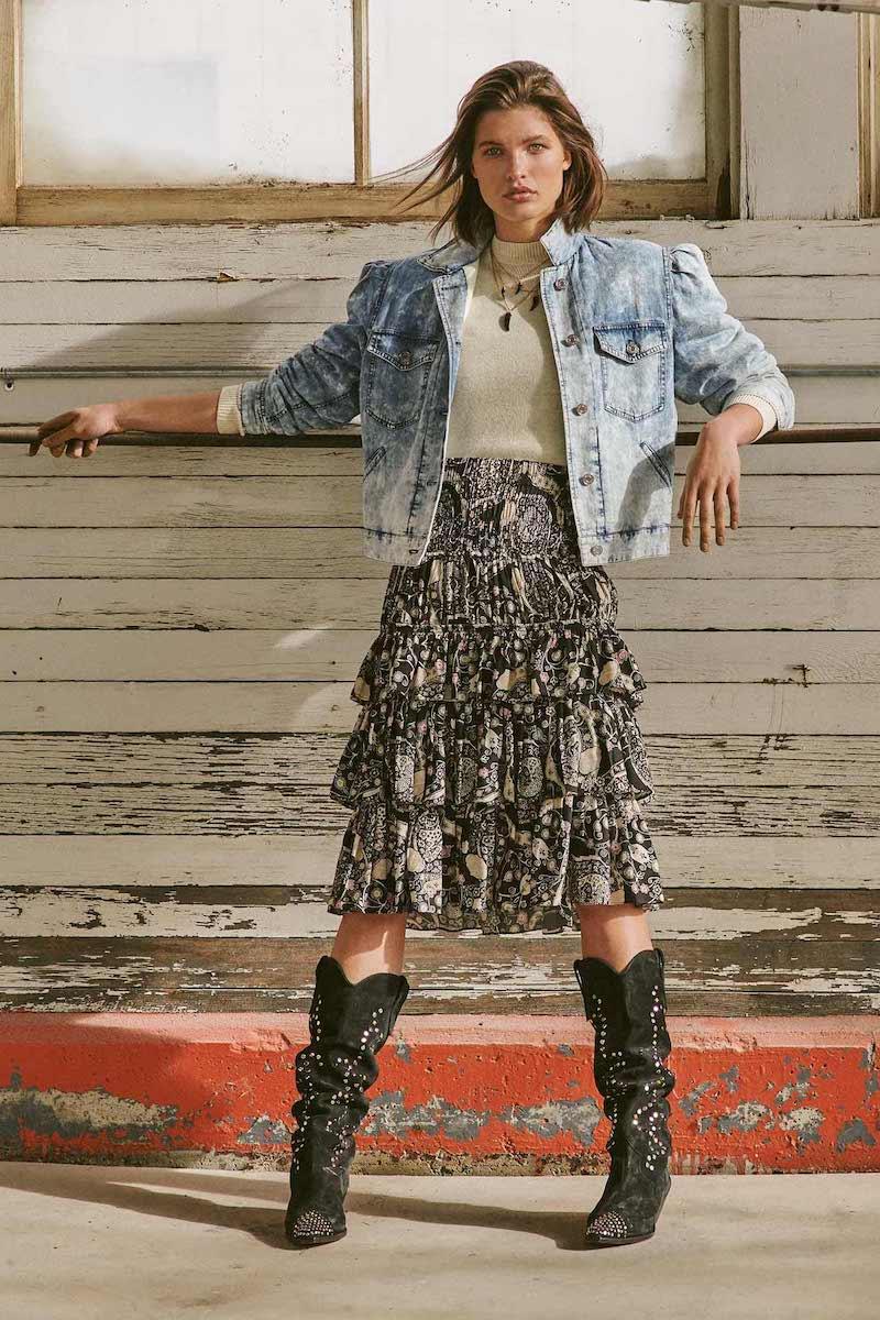 Isabel Marant Étoile Cencia Skirt