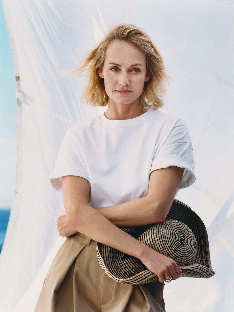 Ninety Percent + Net Sustain Faye Oversized Organic Cotton-Jersey T-Shirt