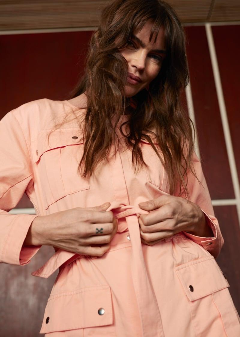 & Other Stories Organic Cotton Tie Belt Jumpsuit