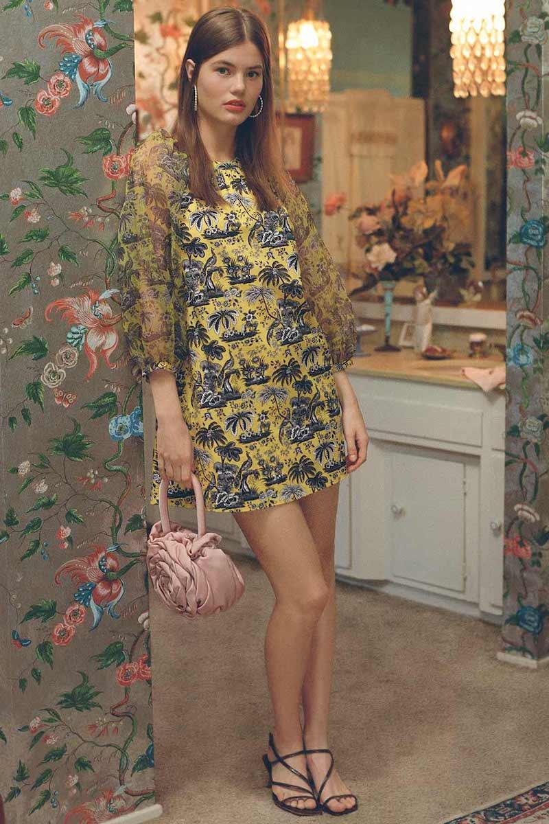 STAUD Garden Dress