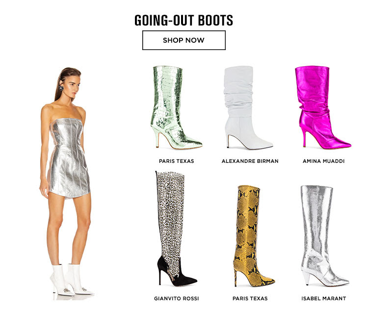 GOING-OUT BOOTS. SHOP NOW