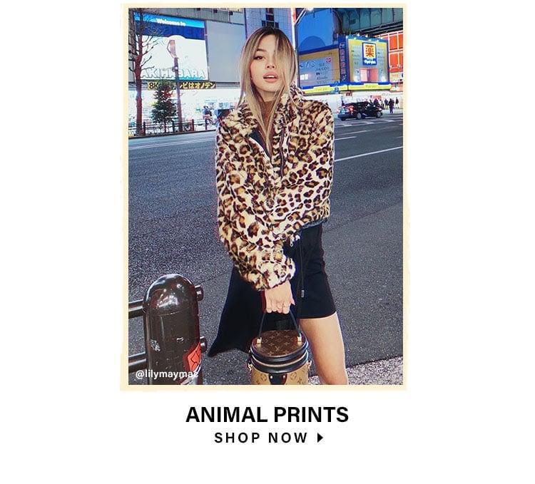Animal Prints. Shop Now.