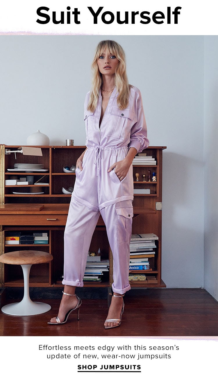 Suit Yourself: Best Jumpsuit to Wear Everywhere for Resort 2020