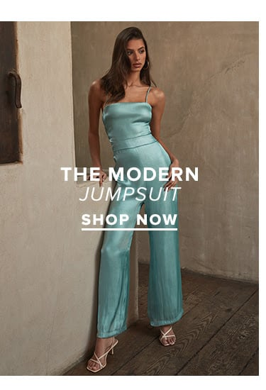 The Modern Jumpsuit. SHOP NOW