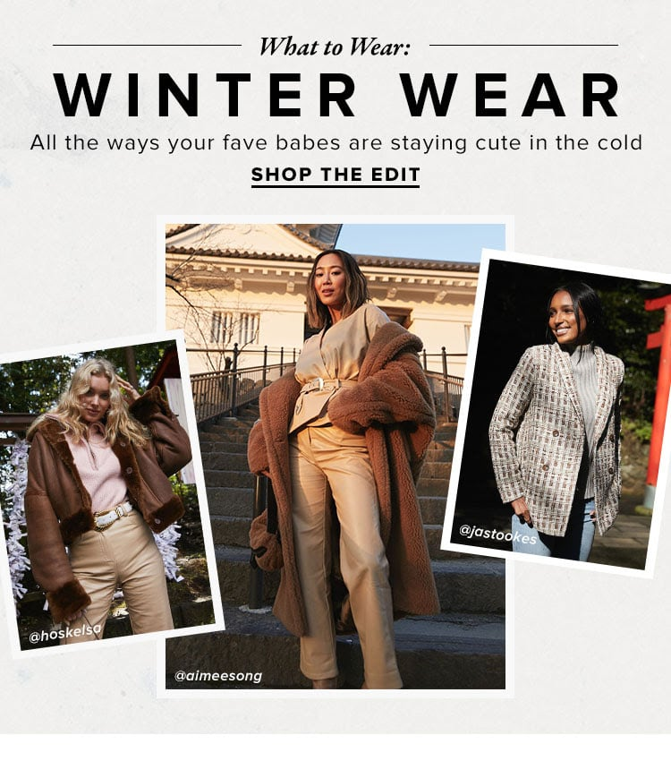 What to Wear // Winter 2020 Survival Guide 101