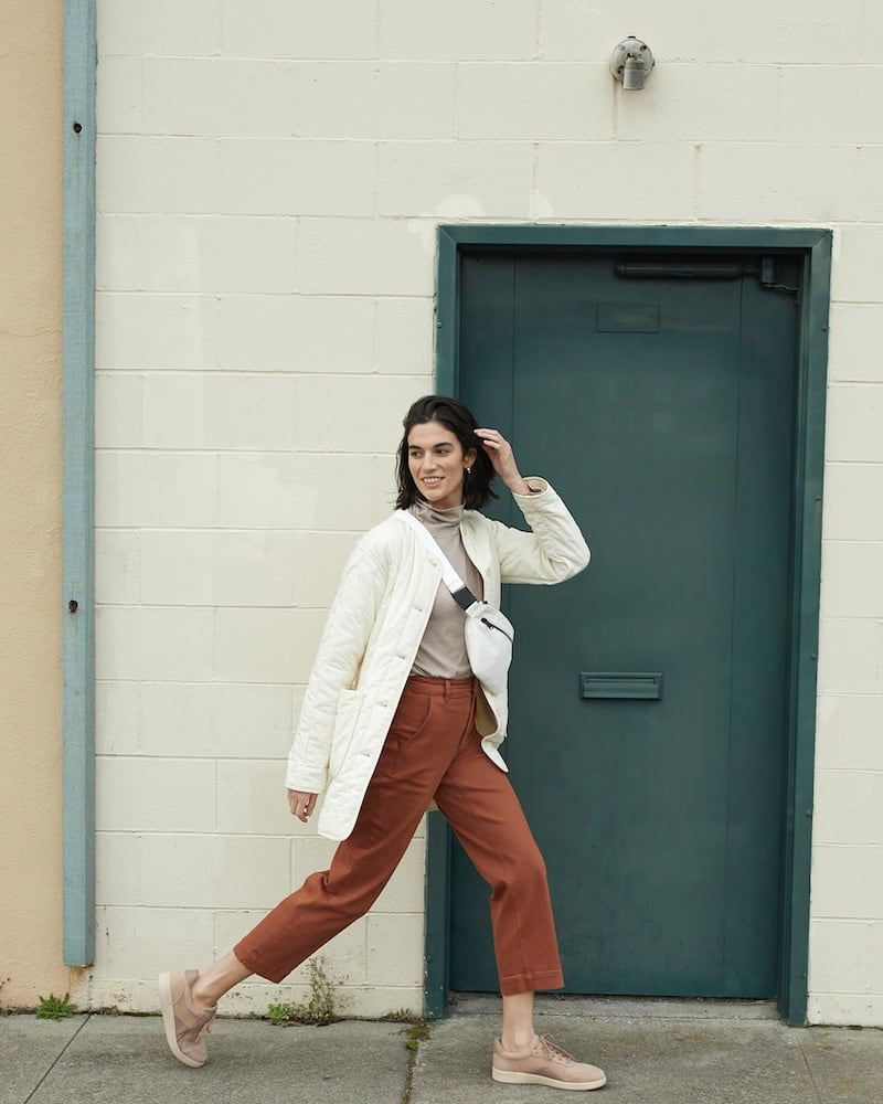 Everlane Cotton Quilted Jacket