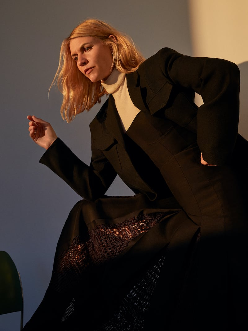 Gabriela Hearst Godard Macramé-Trimmed Wool and Silk-Blend Midi Dress