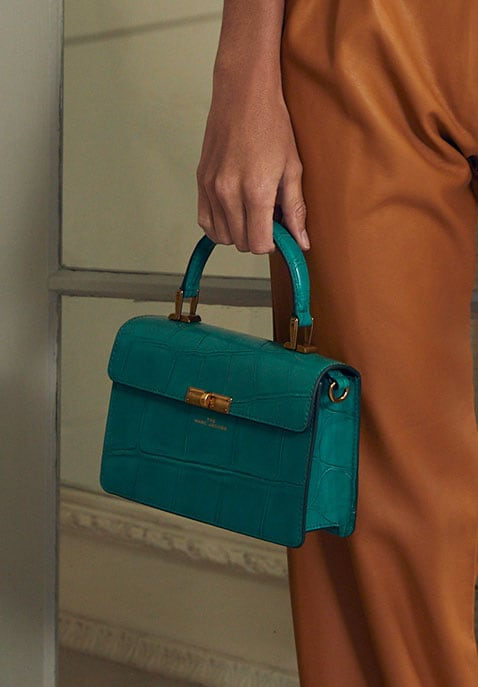 Marc Jacobs The Downtown Croc Embossed Bag