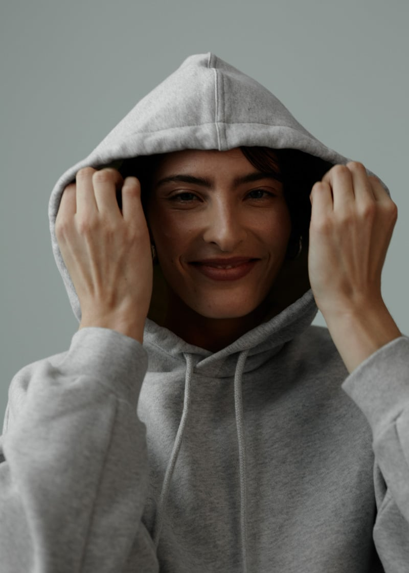 & Other Stories Oversized Boxy Hooded Sweatshirt