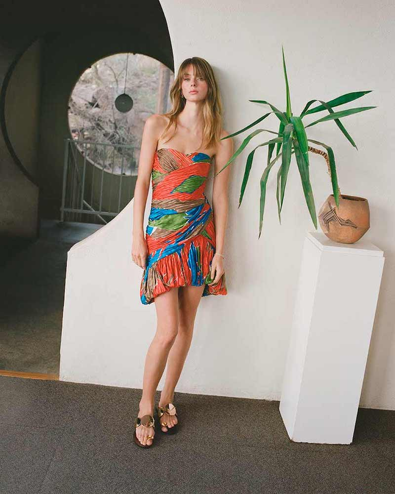 Tory Burch Silk Mini Party Dress