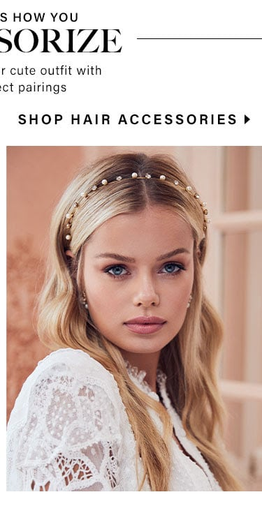Now That's How You Accessorize: Shop Hair Accessories