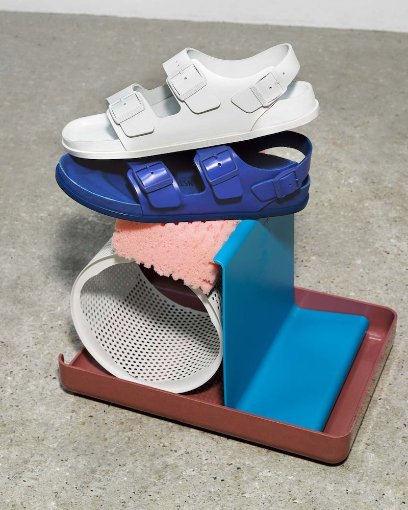 Birkenstock 1774 Milano Ankle-Strap Leather Sandals