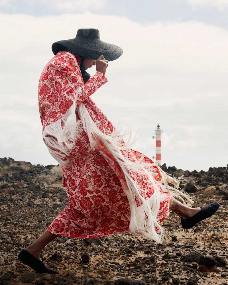 Erdem Tomasso Floral-Jacquard Jacket