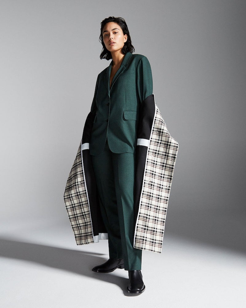 Gabriela Hearst Sophie Single-Breasted Wool Jacket
