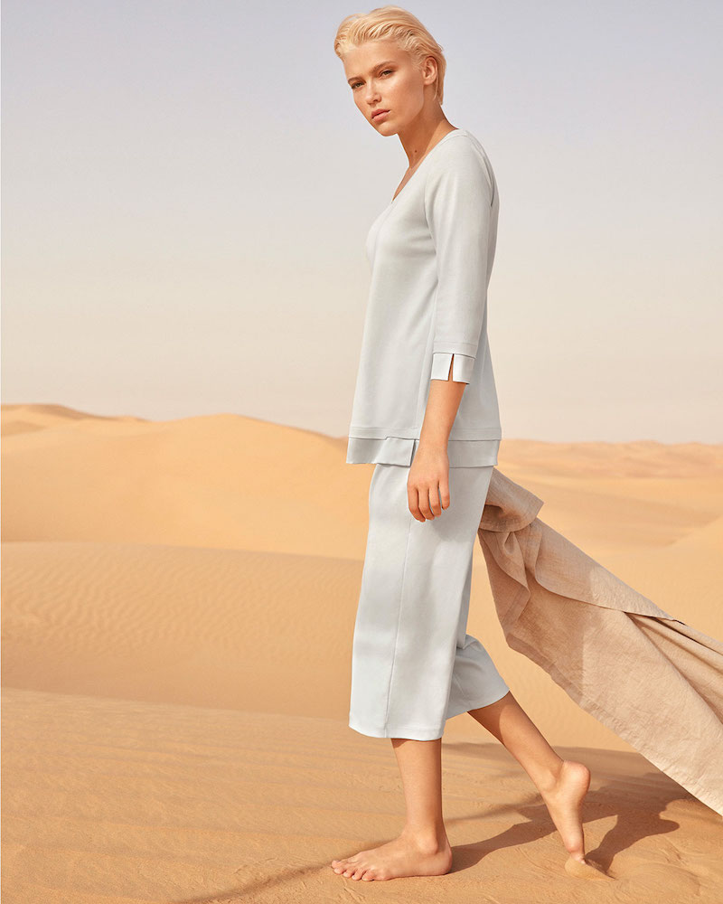 Hanro Lamia 3 4-Sleeve Pajama Set