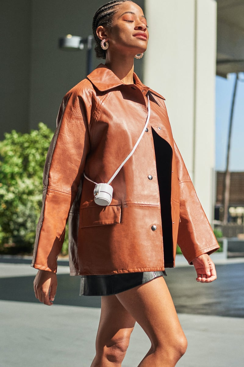 Kassl Editions Reversible Leather Jacket