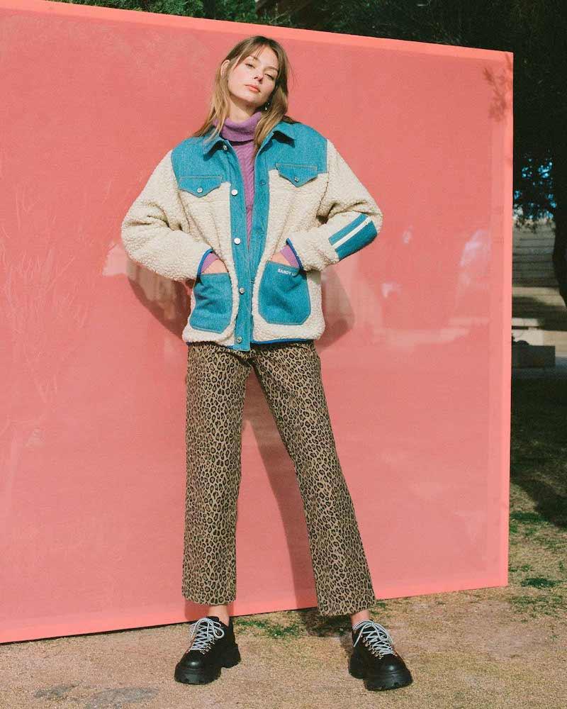 Sandy Liang Dorne Fleece Jacket