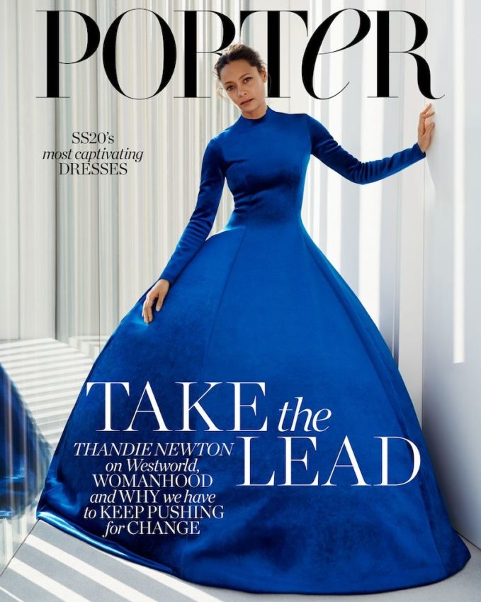 Say It Loud: Thandie Newton for The EDIT