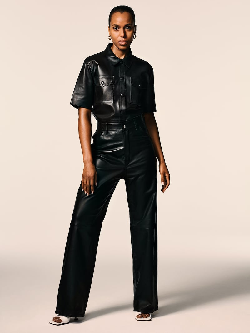 Stand Studio Danna Leather Shirt