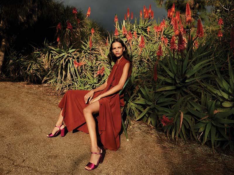 Victoria Beckham Scarf-Neck Sleeveless Crepe De Chine Silk