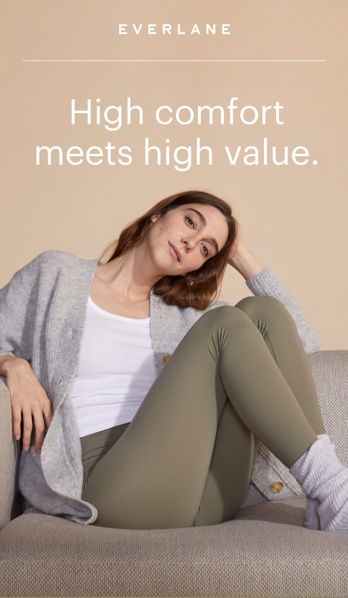 High comfort meets high value.