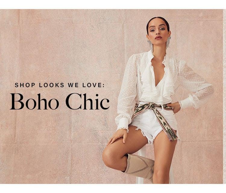 SHOP LOOKS WE LOVE: BOHO CHIC