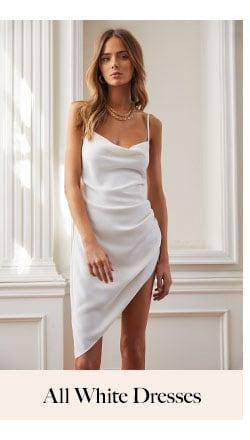 All White Dresses