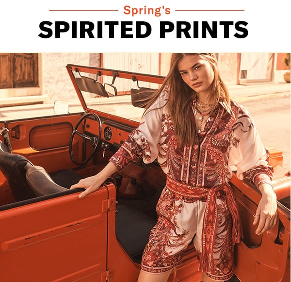 What to Wear // Most Spirited Prints for Spring 2020