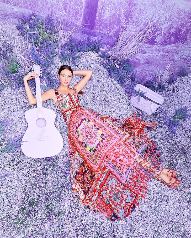 Alice + Olivia Deona Pleated Dress