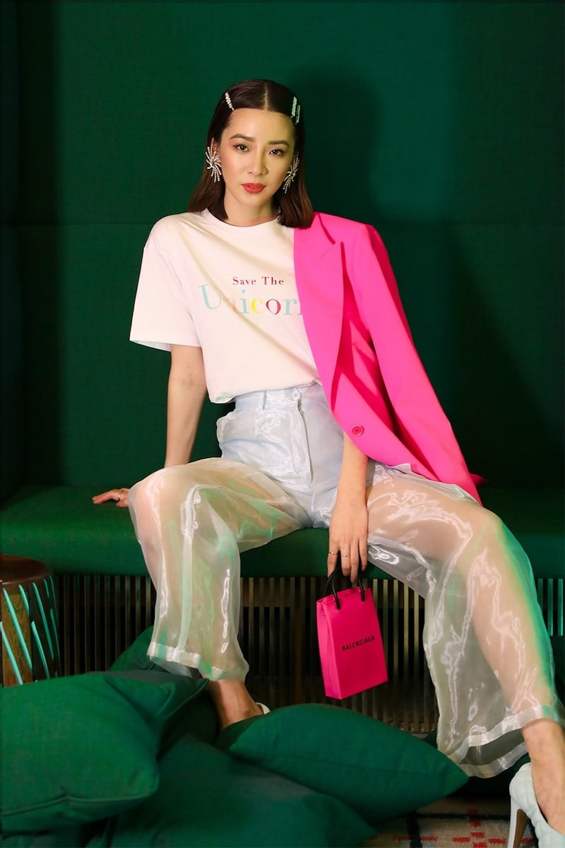Irene Is Good Embroidered Cotton Jersey T-Shirt
