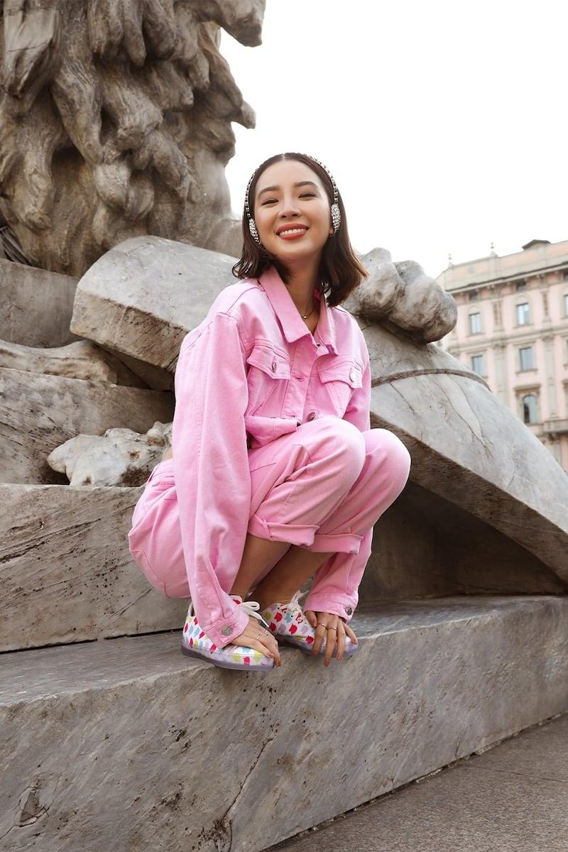 Irene Is Good High Waist Cotton Straight Jeans