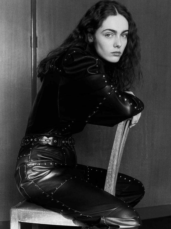 Isabel Marant Veneza Studded Leather Top
