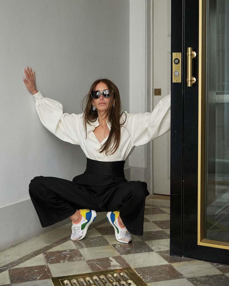 Khaite Blaine Cummerbund-Waist Wide-Leg Trousers