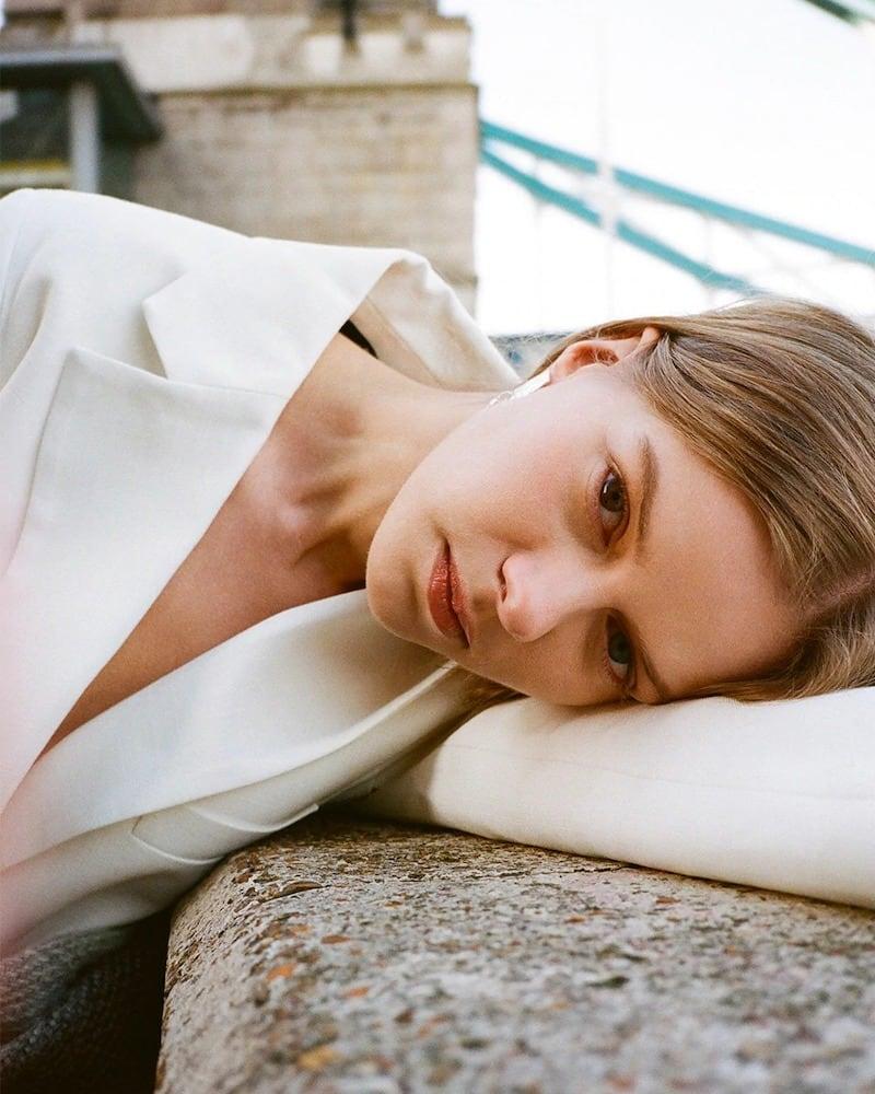 Max Mara Paste Embossed Clip-On Earrings