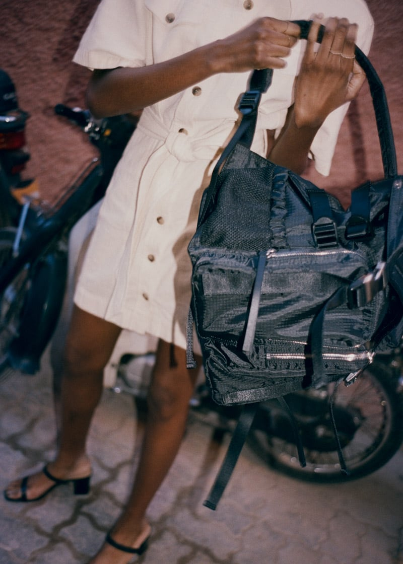 & Other Stories Functional Nylon Backpack