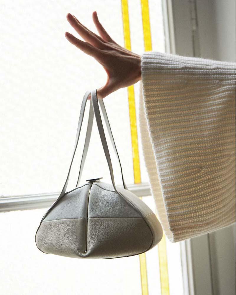 Rodo Giza Bicolor Top Handle Bag