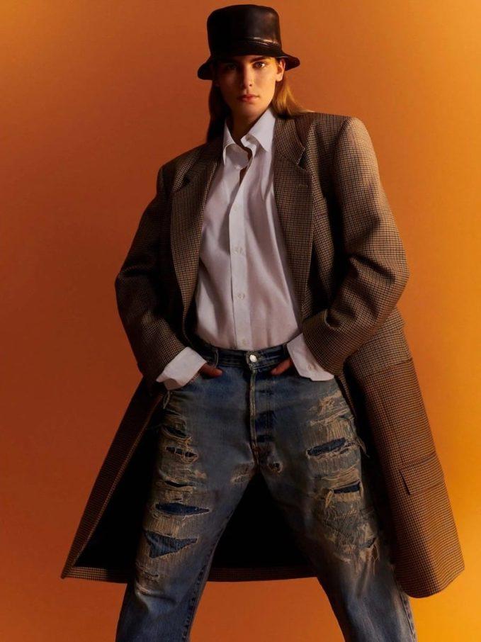 The Row Amos Point-Collar Cotton-Poplin Shirt