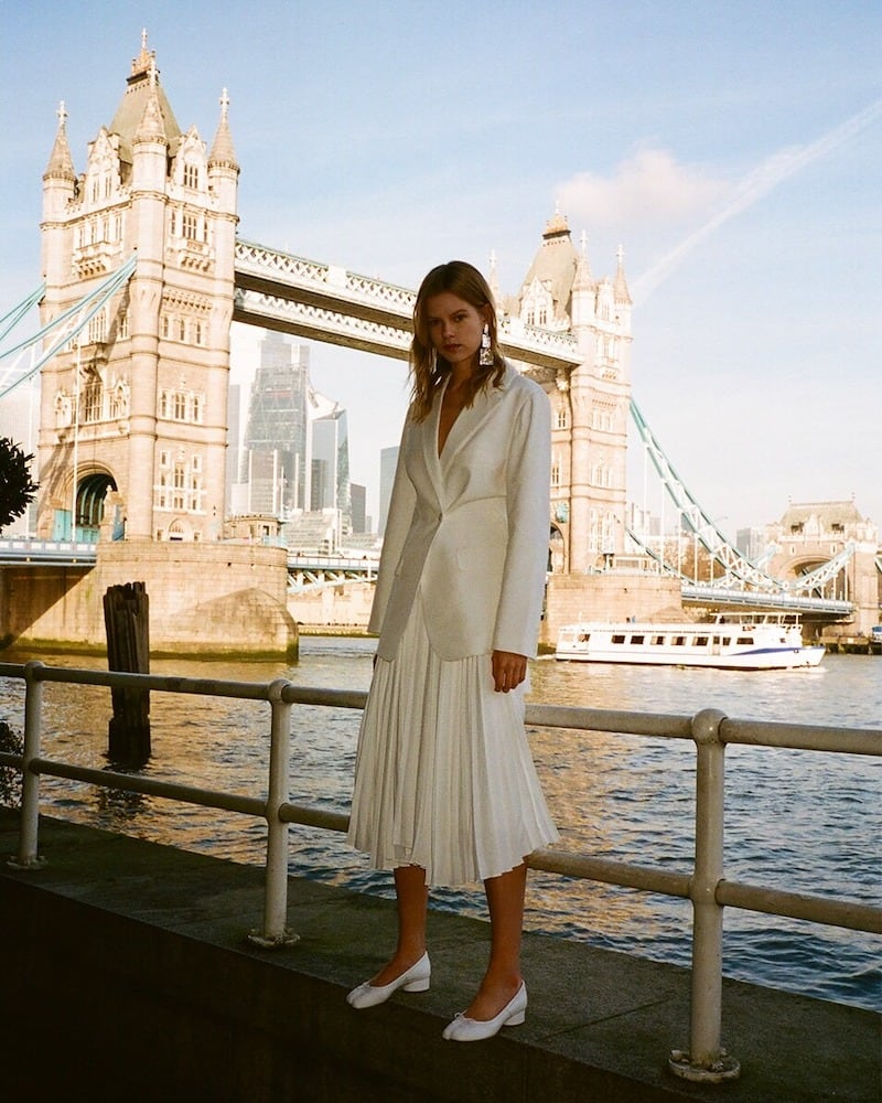 The Row Kiro Silk & Linen Canvas Jacket