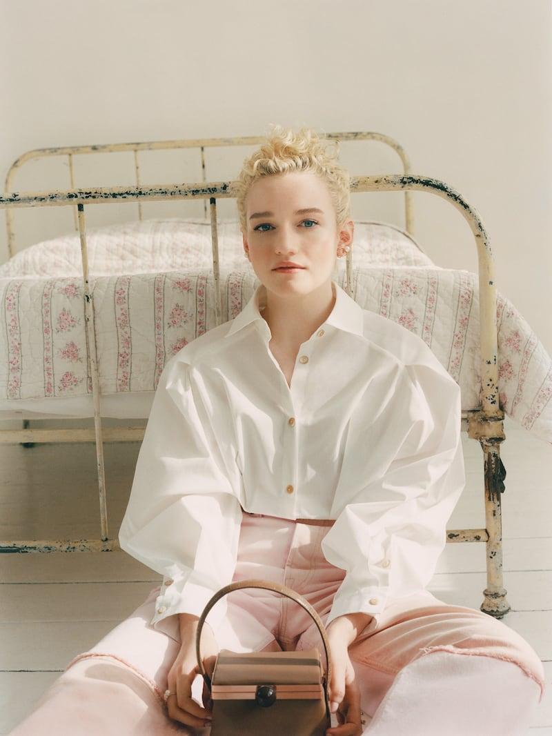 palmer//harding Sunda Cotton-blend Poplin Peplum Shirt