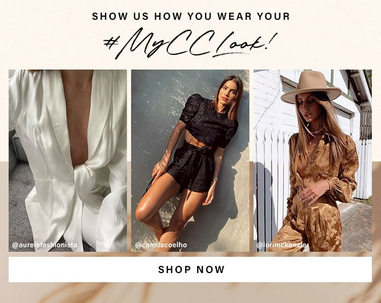 Show us how you wear your #MyCCLook. Shop now.