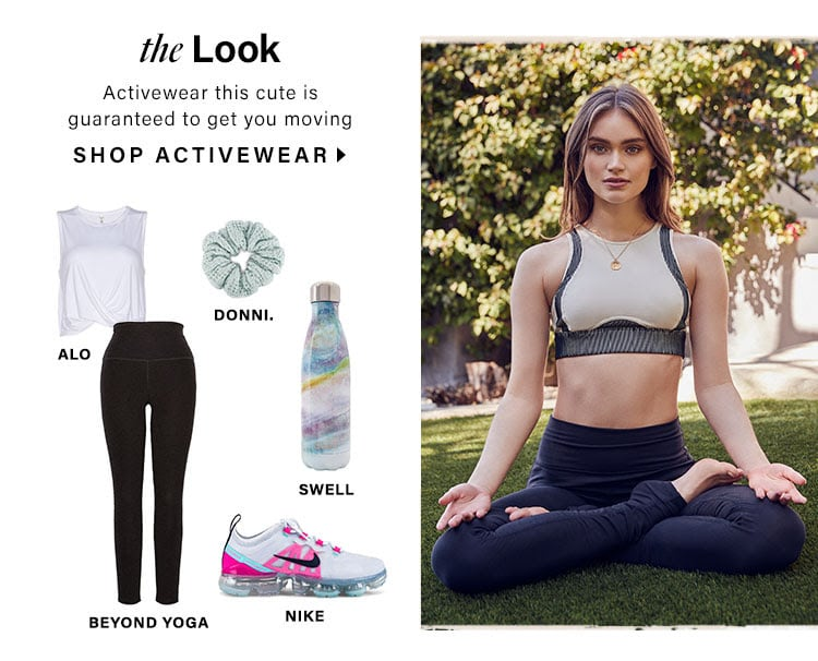 The Look. Activewear this cute is guaranteed to get you moving.