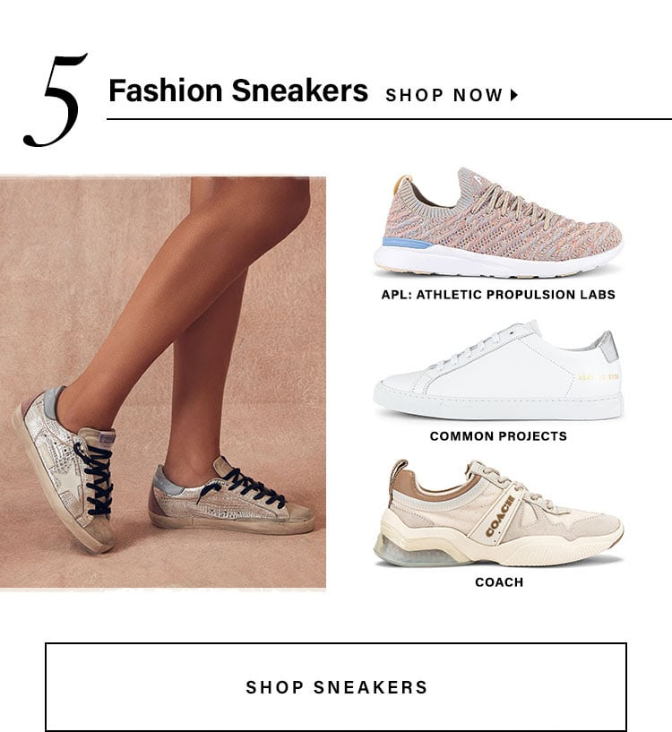 Fashion Sneakers. Shop Now.